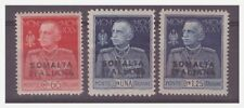 SOMALIA ITALIANA 1925 -  GIUBILEO DEL RE  SERIE    NUOVA **
