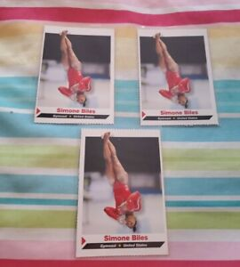 SIMONE BILES 2014 Sports Illustrated SI for Kids  Gymnastics ROOKIE 🔥Lot of 3🔥