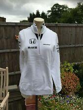 Genuine Mc LAREN  HONDA F1 Formula 1 white ladies top Size M Medium BRAND NEW