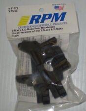 RPM 81072 TMAXX & EMAXX BLACK REAR BULKHEADS FITS ALL VERSIONS   NEW NIP