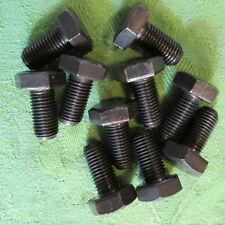 5 Stk DIN 961 Sechskantschraube M18x1,5x60 Feingewinde ann/ähernd bis Kopf Stahl