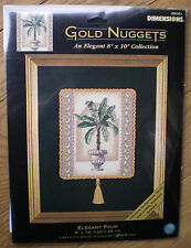 "Dimensions Gold Nuggets ""Elegant Palm"" Counted Cross Stitch Kit"