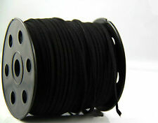 10yd Wholesale 3mm Suede Leather String Jewelry Making Bracelet DIY Thread Cord Black