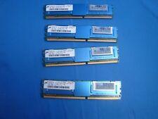 8gb 4x2gb 2RX8 PC2-5300F-555-11-B0 Micron Server RAM NEW