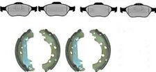 FORD FUSION FRONT BRAKE PADS & REAR BRAKE SHOES - ABS MODELS