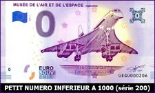 UE GU-3 / MUSEE DE L'AIR ET ESPACE / CONCORDE / BILLET SOUVENIR 0 EURO / 2019-3