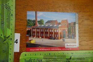 Alter Aufkleber Modellbau Modellbahn Gebäude Zubehör AUHAGEN 11 422