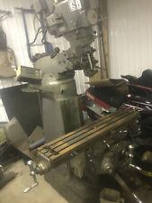 Sharp Lmv 42 X 9 Vertical Knee End Mill 3hp Vari Speed X Axis Power Feed