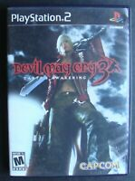 PS2 DEVIL MAY CRY 3 DANTE'S AWAKENING COMPLETE SONY PLAYSTATION TESTED/WORKING