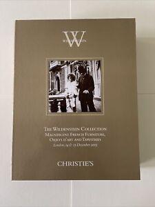 The Wildenstein Collection by Christie's - London, 14 & 15 December, 2005