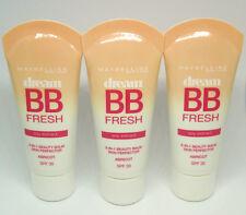 3 x MAYBELLINE dream BB FRESH ABRICOT / apricot