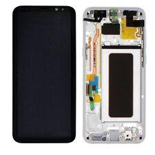 Display LCD Komplettset GH97-20470B Silber für Samsung Galaxy S8 Plus G955 F Neu