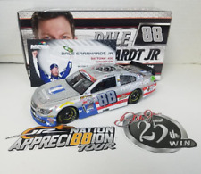 NEW 2017 DALE EARNHARDT JR #88 25th CAREER WIN  1/24 STARTS SHIPPING 11-17-17