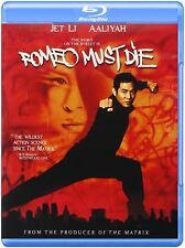 Blu Ray ROMEO MUST DIE. Jet Li. UK compatible. New sealed.