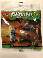 Lego Ninjago Minifig Poly Bag Hidden Sword w Zane Figure Set 30086