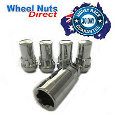 HOLDEN COMMODORE VE VF Wheel Lock Nuts 14x1.5 Set With Key