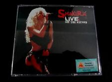 Shakira CD + 2 VCD Live & Off The Record 2004 Ultra Rare Sony Music Asia