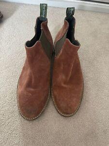 mens barbour shoes size 8