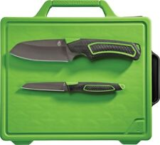 Set de 2 Couteaux Gerber Freescape Camp Kitchen Kit : Santoku + Paring G1041