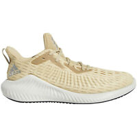 ADIDAS ALPHABOUNCE+ Mens Running Athletic Shoes - Beige / Gold - Size 10