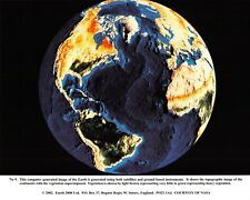 NASA Computer Generated Image of Earth, generated using Satellites & other, 2002