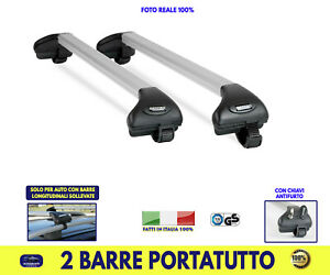 Barre Portatutto Toyota Yaris 2000>2005 da tetto Portapacchi bagagli da set kit