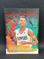2018 Panini Court Kings Shai Gilgeous-Alexander Emerging Artists Ruby /99