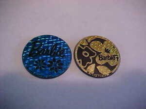Barbie Pogs Canadian Exclusive Slammers Lot of 2 1995 #7