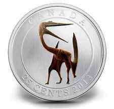 CLEARANCE MUST SELL! Canada 2013 Glow in the Dark Quetzalcoatlus  DINOSAUR coin