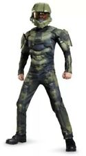 NEW Disguise Costume Boys HALO MASTER CHIEF 3D JUMPSUIT Small 4-6