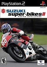 SUZUKI SUPER BIKES II: RIDING CHALLENGE PLAYSTATION 2 PS2 GAME BRAND NEW!!!
