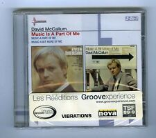 CD (NEW) DAVID McCALLUM MUSIC IS A PART OF ME (2-ON-1)