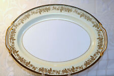 "Noritake China VALENCIA 5086 Japan 16 3/8"" Oval Ham Turkey Serving Platter"