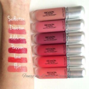 Revlon Ultra HD Matte Lip Color Lipstick -   NEW -   SEALED +   FREE POST
