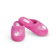 American Girl CL MY AG HEART SLIPPERS LARGE 5.5-7 for Girls I Love Pets NEW
