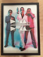 """Depeche Mode """"The Delta Machine"""" 2014 Official Tour Poster Professionally Framed"""