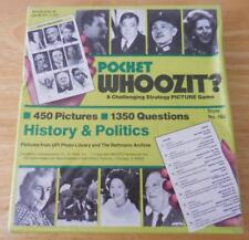 Pocket Whoozit? Picture Game #163 History & Politics - New/Sealed