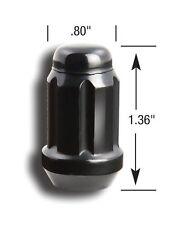 16 GORILLA SPLINE TUNER BLACK LUG NUTS 12X1.25   + FREE VALVE STEMS DATSUN