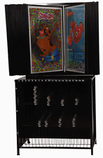 Poster Display Rack ~ Shows 60 different on 30 Wings ~ Holds 480 rolled below