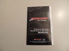 2010 Mercury 2.5 / 3.5 PS 1Zyl-4Takt owner s manual Betriebs anleitung Handbuch