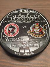 WBS Penguins Binghamton Senators 2005 AHL Calder Cup Playoffs Hockey Puck