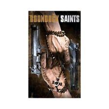 "Boondock Saints Guns Poster 24x36"" Veritas Aequitas Connor Murphy MacManus Gift"