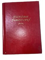 Dirty Dirks Book Of Odes Famous Odes, Hard Cover VG, 1st Ed 2005) David Roberts