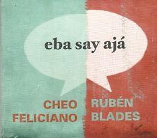 Cheo Feliciano Ruben Blades  EBA SAY AJA  BRAND NEW -SEALED  CD