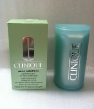 Clinique Acne Solutions Cleansing Bar For Face & Body  5.2OZ/150G
