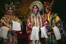 766099 Chinese Opera Singers Hong Kong A4 Photo Print
