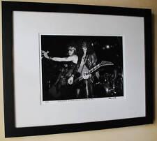 Guns N Roses Axl Rose Slash  Jackson Guitar 1986 fine art photo signed 13/100