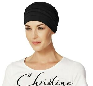 Organic Bamboo Brown, Black Hair Loss Turbans + Adjustable Grip Bands RRP $170