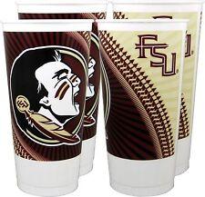 Florida State Seminoles 24 oz. Souvenir Cups (4 per set)