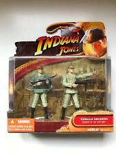 INDIANA JONES - GERMAN SOLDIERS - RIDERS OF THE LOST ARK - HASBRO 2008 - NEW